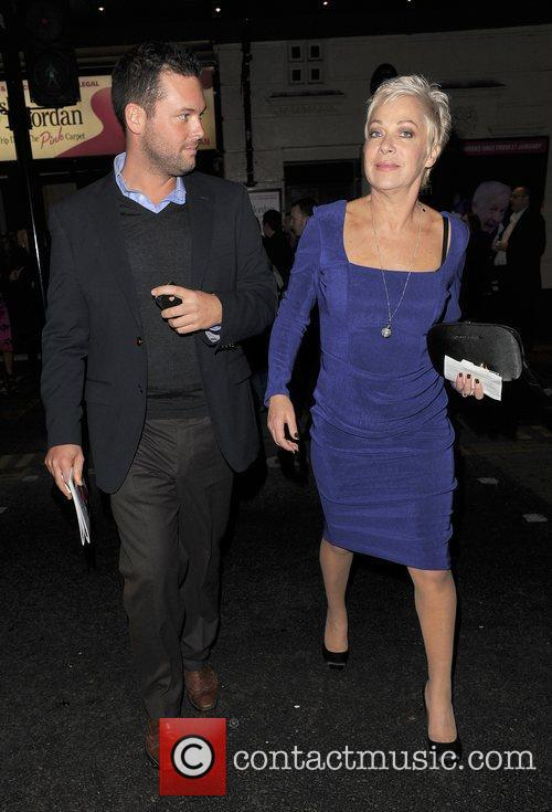 Denise Welch Press night for 'My Trip Down...