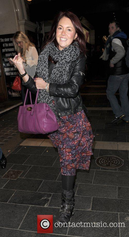 Lacey Turner Press night for 'My Trip Down...