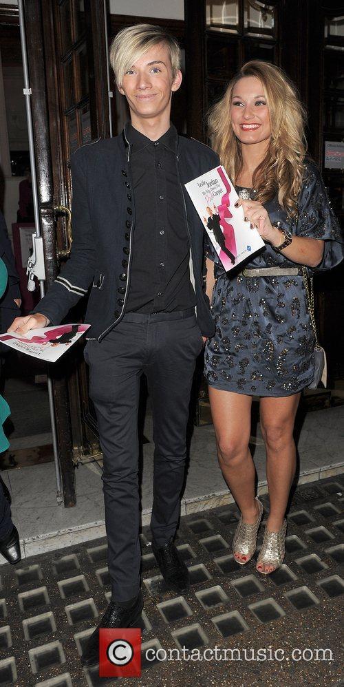 Harry Derbidge and Samantha Faiers Press night for...