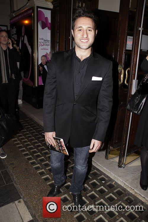 Antony Costa Press night for 'My Trip Down...