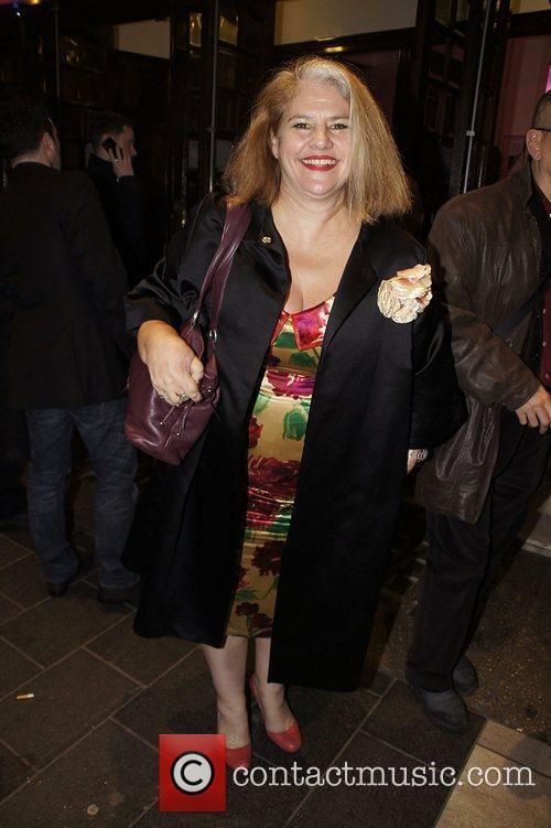 Denise Black Press night for 'My Trip Down...