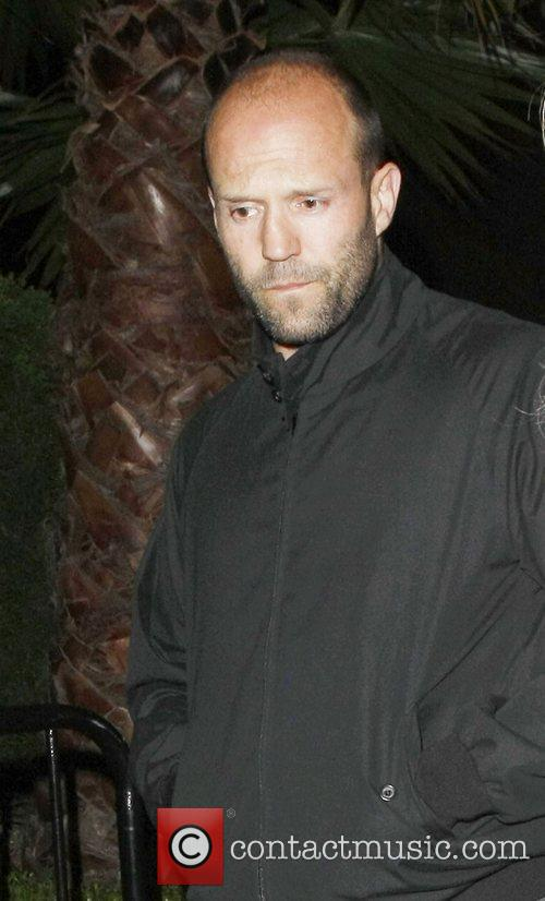 Jason Statham Celebrities attending a Prince concert at...