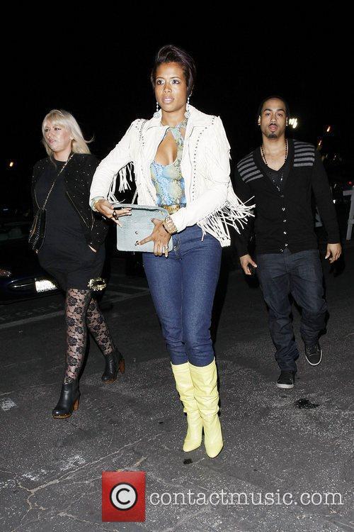 Kelis  Celebrities attending a Prince concert at...