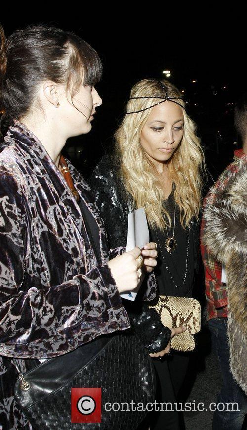 Nicole Richie  Celebrities attending a Prince concert...