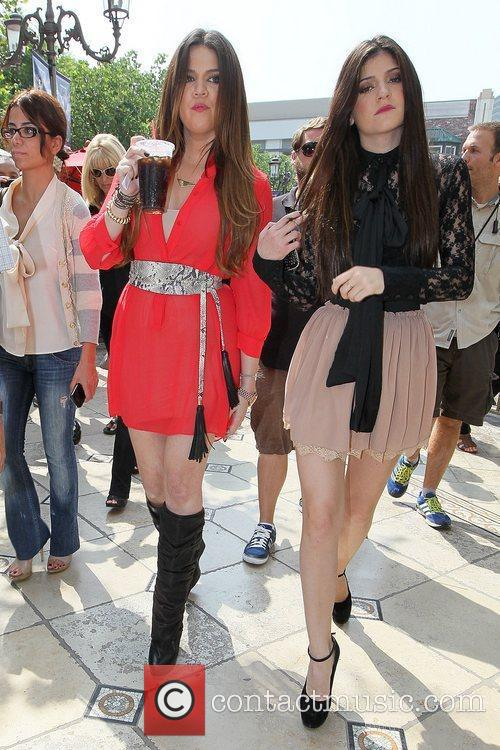 Khloe Kardashian and Kylie Jenner 6