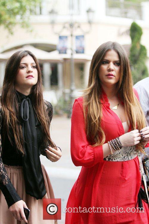 Kylie Jenner and Khloe Kardashian 11
