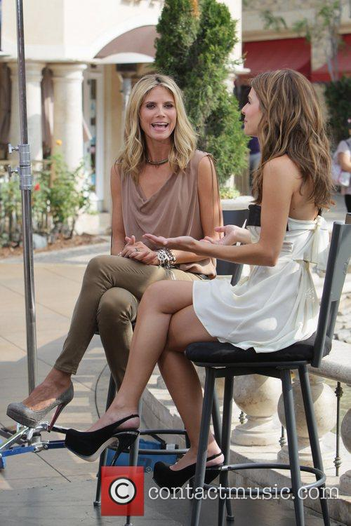 Heidi Klum and Maria Menounos 3