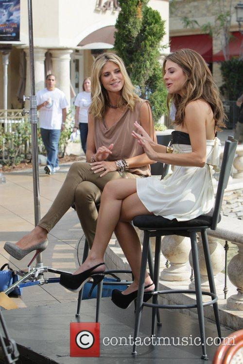 Heidi Klum and Maria Menounos 24