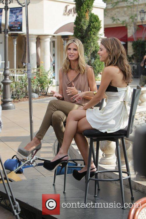 Heidi Klum and Maria Menounos 25