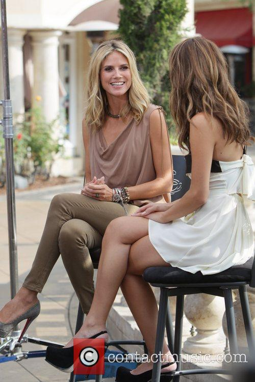 Heidi Klum and Maria Menounos 10
