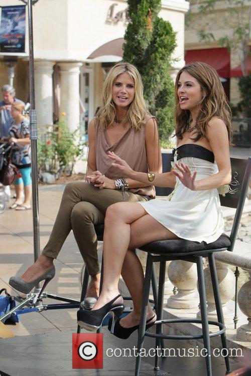 Heidi Klum and Maria Menounos 8