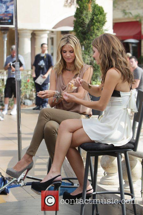 Heidi Klum and Maria Menounos 18