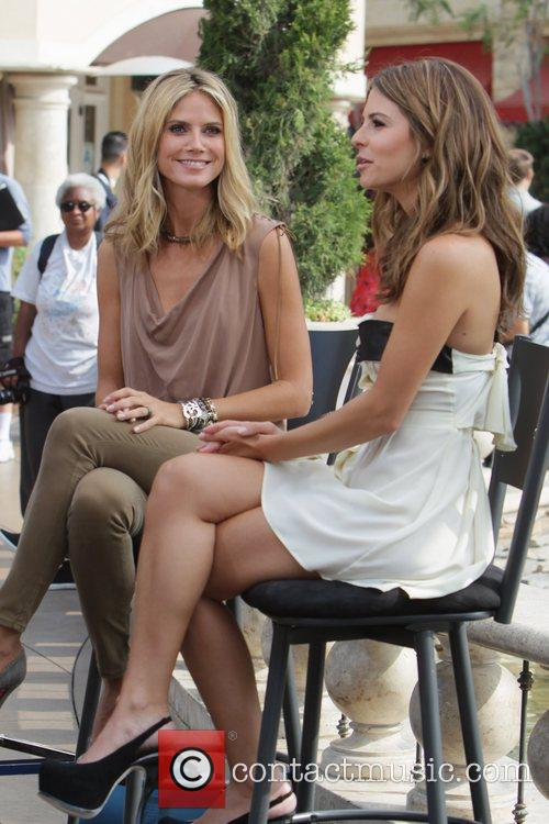 Heidi Klum and Maria Menounos 12