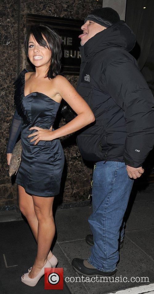 Louisa Lytton leaving the Westbury Hotel, and is...