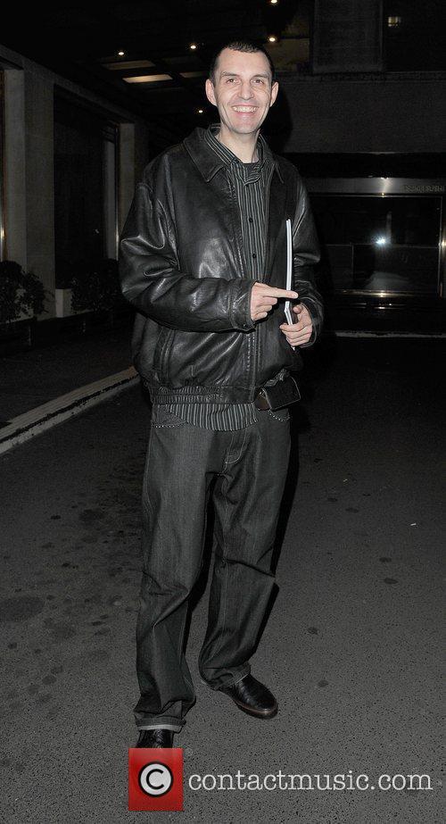 Tim Westwood leaving the Westbury Hotel. London, England