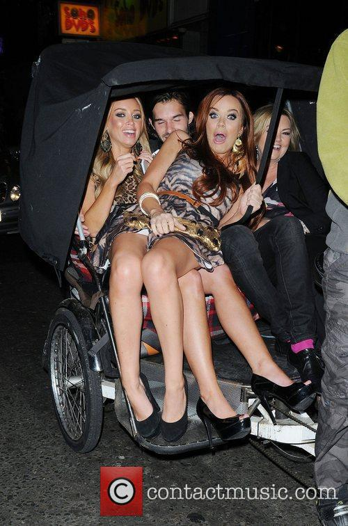 Maria Fowler, Bobbly Sabel and Lauren Pope...