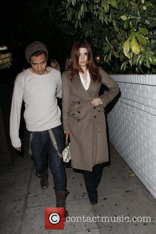 Celebrities are seen outside the Chateau Marmont arriving...