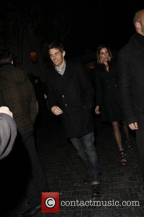 James Marsden Celebrities are seen outside the Chateau...