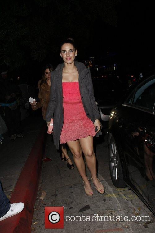 Jessica Lowndes Celebrities are seen outside the Chateau...