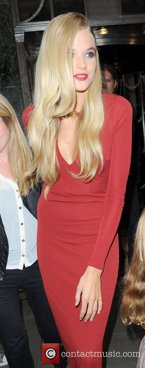 Gabriella Wilde Celebrities leaving their hotel and heading...