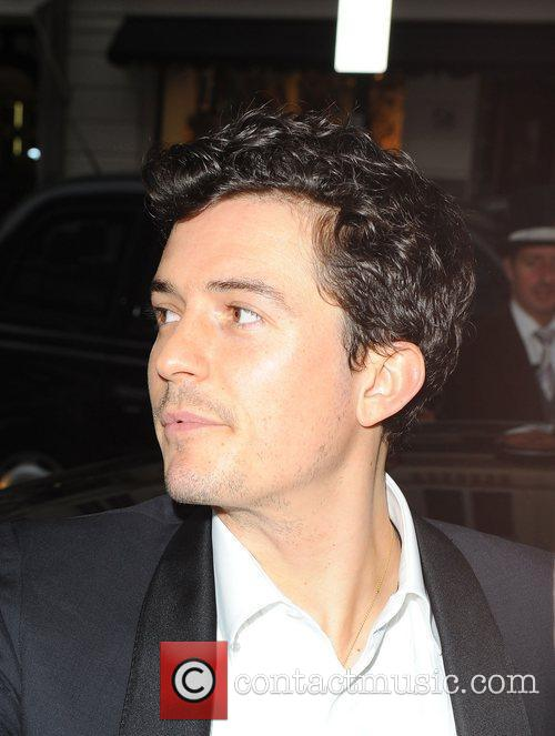 Orlando Bloom Celebrities leaving their hotel and heading...