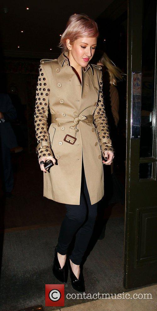 Celebrities leaving their hotel in central London
