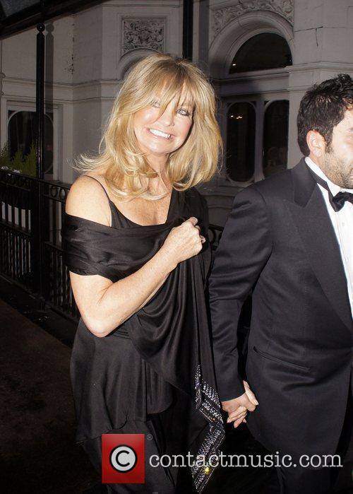 Goldie Hawn  leaving her hotel London, England