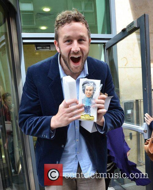 Chris O'Dowd out and about in Dublin Dublin,...