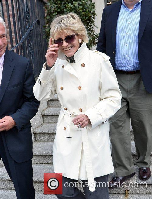 Jean Kennedy Smith  out and about in...