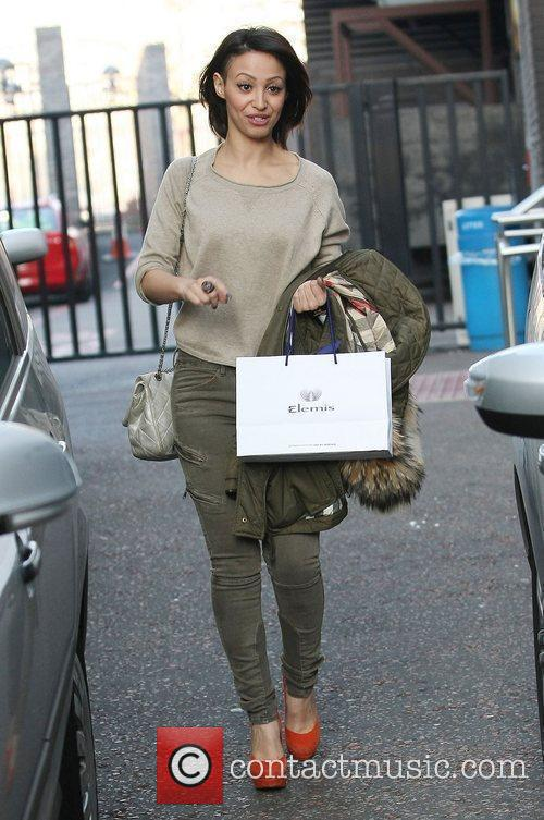 Amelle Berrabah at the ITV studios London, England