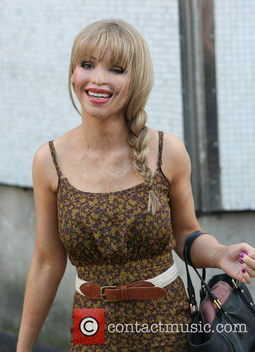 Katie Piper at the ITV studios London, England