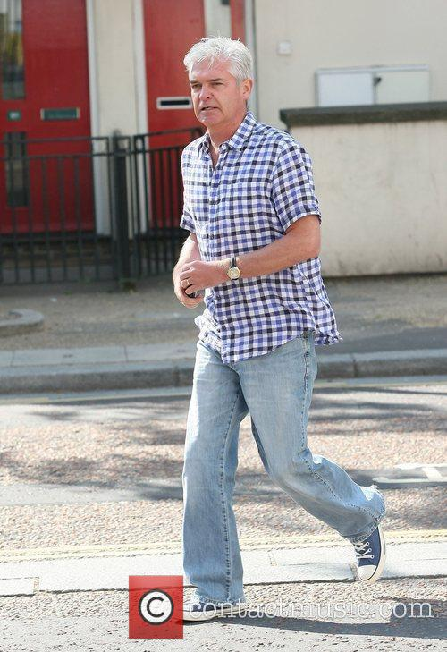 Phillip Schofield at the ITV studios London, England