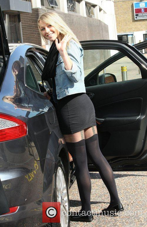 Chloe Madeley Celebrities outside the ITV television studios...