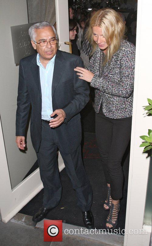 Gwyneth Paltrow leaving La Petit Maison after having...