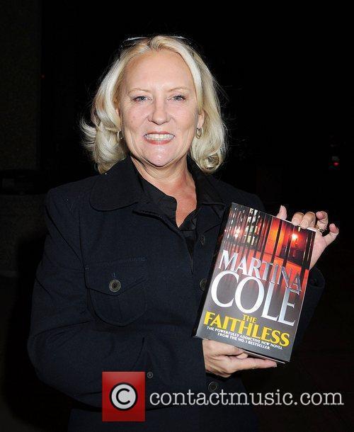 Martina Cole outside the RTE studios for The...