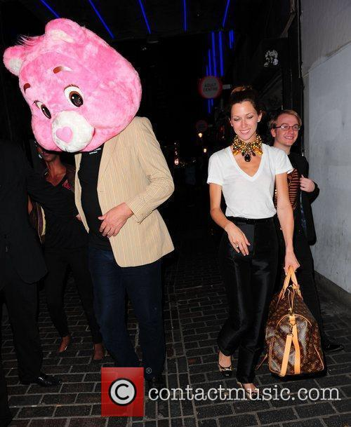 Stephen Fry and Pink 7