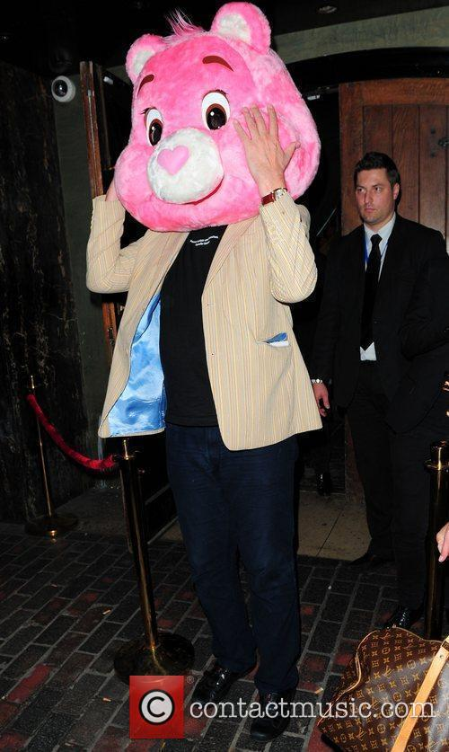 Stephen Fry and Pink 9