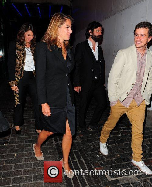 Tracey Emin celebrities outside Box in London London,...