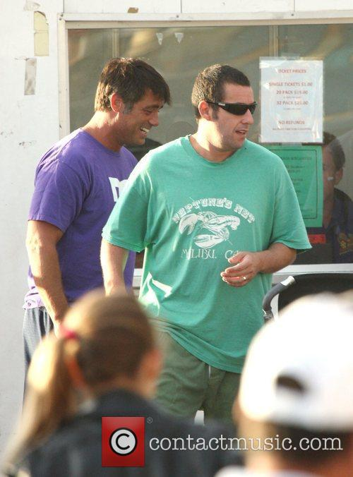 Adam Sandler sending a day at Malibu Fair...