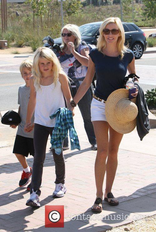 Camille Grammer sending a day at Malibu Fair...