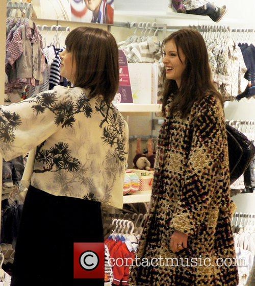 Celebrities shopping at The Mamas & Papas 30th...