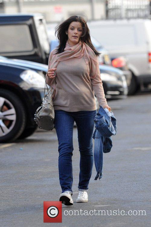 Yvonne Manning arrives at Old Trafford to watch...