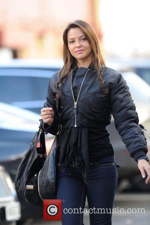 Daniella Martins arrives at Old Trafford to watch...