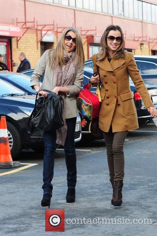 Hayley Fletcher and Ana Vidic  arrive at...