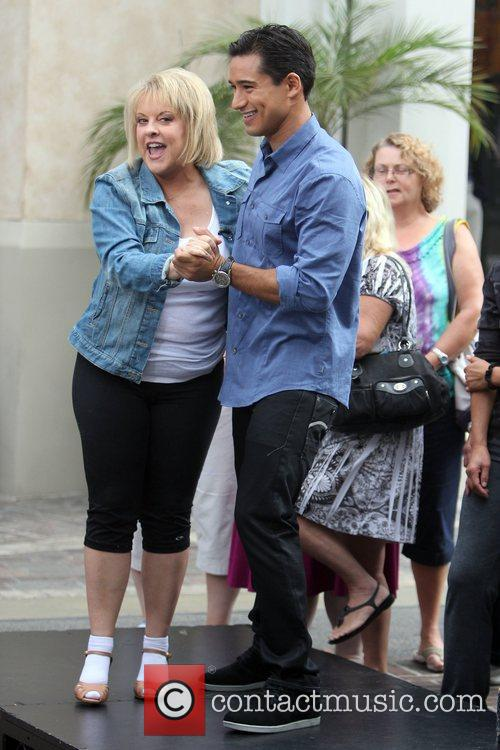 Nancy Grace at The Grove to film an...