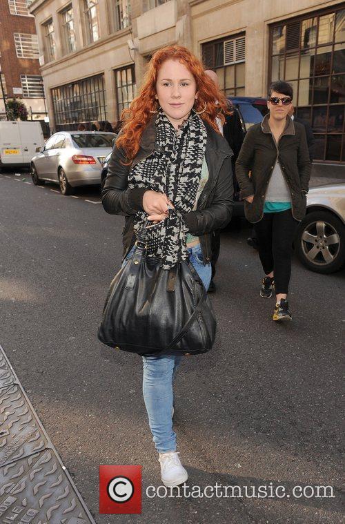 Katy B  leaving the BBC Radio 1...