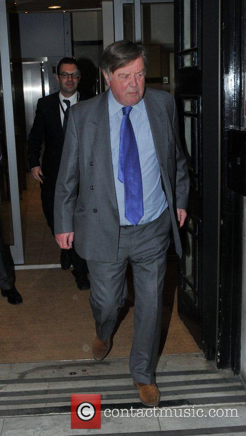 Kenneth Clarke Celebrities outside the BBC Radio Two...