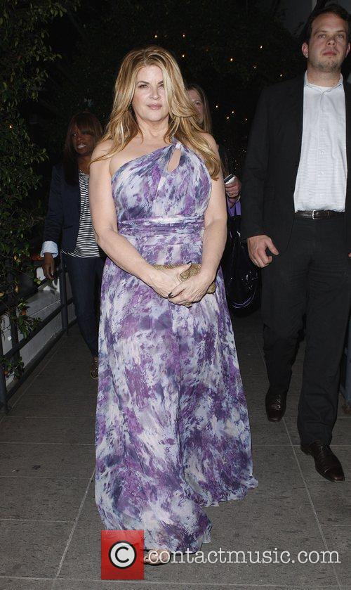 Kirstie Alley outside STK restaurant in West Hollywood...