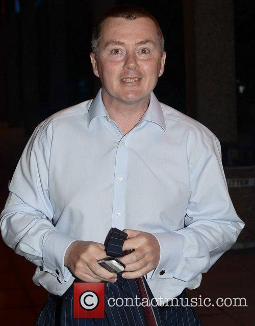 Willie Walsh outside RTE studios for an appearance...