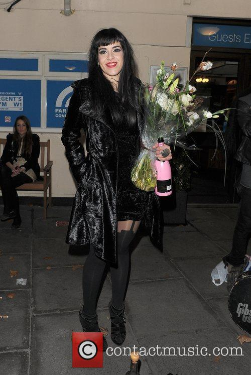 Ruth Lorenzo leaving The Venue bar, having performed...